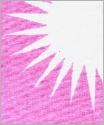 pink puff flannel fabric scan